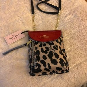 Juicy Couture Cellie Leopard Mini Crossbody